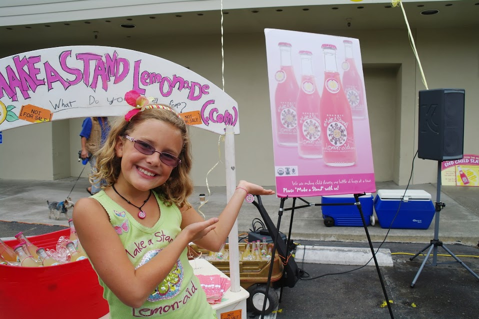 Vivienne Harr turned her Make a Stand Lemonade business into a lucrative corporation and movement.