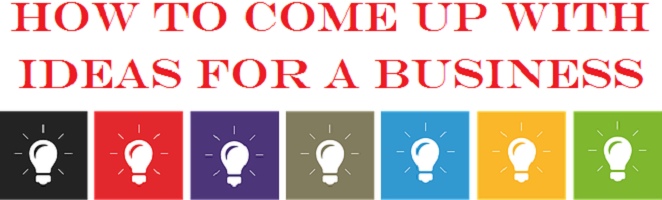 The EntreMarketing Group shares two tips for coming up with cool ideas for a business.