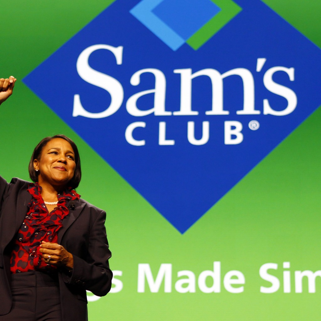 Rosalind Brewer, Very First Woman & African American Woman President and CEO of Any Wal-Mart Store... Sam's Club
