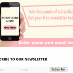 Build an Email List Using Email Sign-Up Boxes