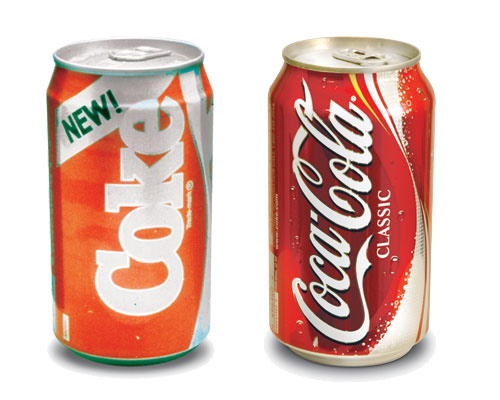 Reposition your brand image better than Coca-Cola did.